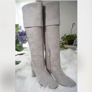 🆕COLE HAAN Tess Cuff Boot 85mm Knee High Boots